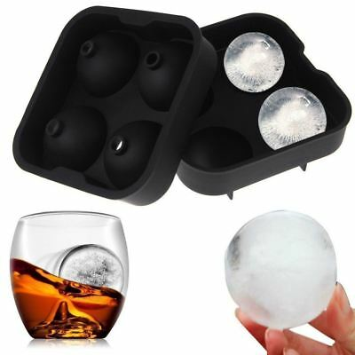 ULTRICS® Ice Ball Maker Mould, Premium BPA Free Silicone Cube Tray for Drinks