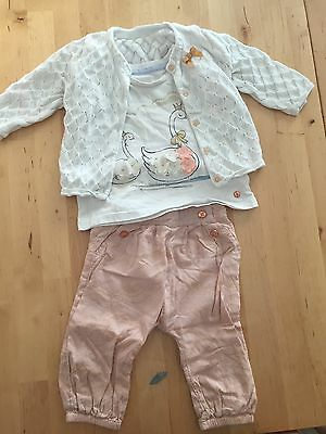 M&S baby girls clothes 6-9 months beautiful outfit a unique range