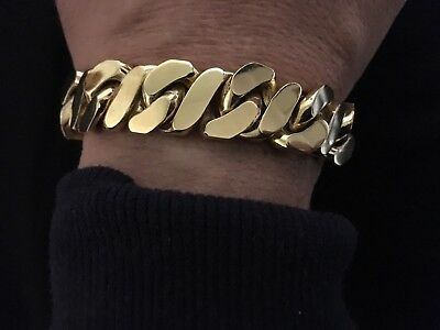 Men's Gold Bracelet  9ct