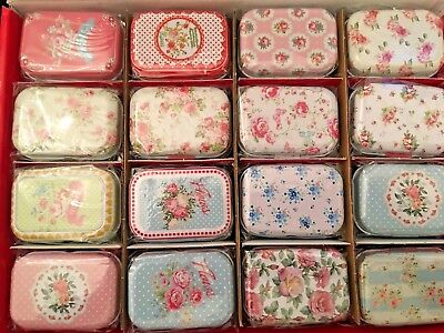 Collectables Pill Box Tin Tablet Storage Pill Case Trinket Container II