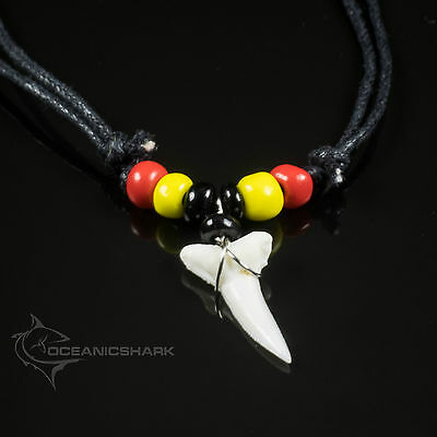 Mako Shark Tooth Black Red Aboriginal Colours Flag Native Australian Pride Gb35