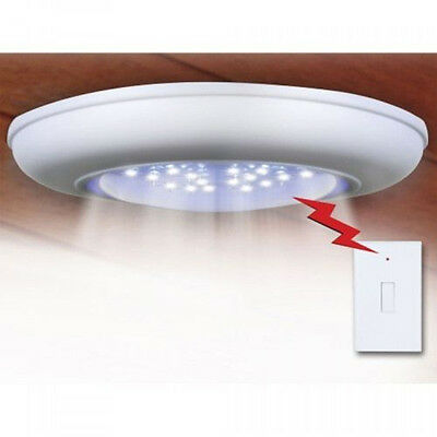 Battery-Operated Cordless Wireless Ceiling/Wall/Hall Light+Remote Control AU