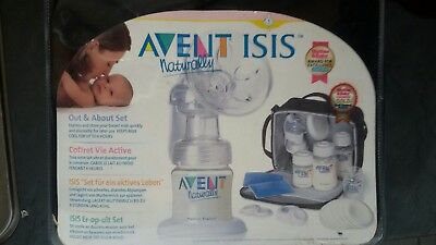 Milchpumpe Avent ISIS naturally Handmilchpumpe