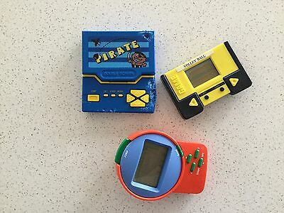 Hand held computer games  Vintage 1980s Hong Kong, Pirate Double Screen, Spares