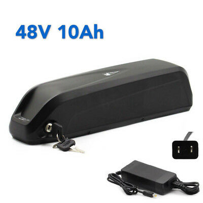 48V 10Ah HaiLong Lithium Battery for Electric Bicycles Li-ion E-Bike + Charger