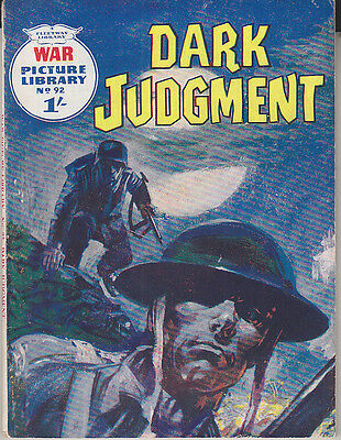 C1 Hugo PRATT Dark Judgment FLEETWAY 1961 EO Edition Originale FIRST EDITION