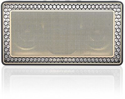 Bowers and Wilkins T7 Bluetooth Wireless Portable Speaker - Gold