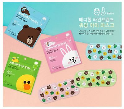 Mediheal Line Friends Warming Eye Mask - Korea/Kpop style cosmetic