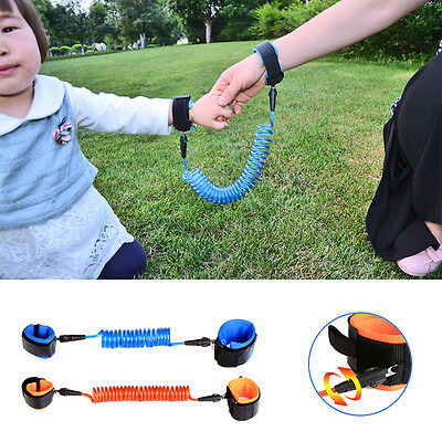 Anti-Lost Baby Kids Child Safety Harness Strap Wrist Leash Walking Keeper Rope