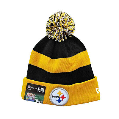 Pittsburgh Steelers NFL New Era Sport Lined OnField Knit Hat