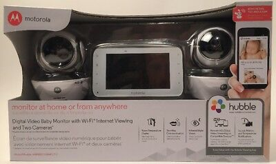 Motorola MBP854CONNECT-2 Digital Video Baby Monitor with WiFi Internet Viewing