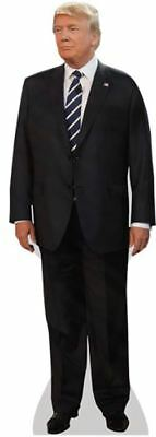 Donald Trump (Suit) Cardboard Cutout (lifesize OR mini size). Standee. Stand Up