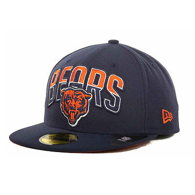 Chicago Bears NFL 59FIFTY [5950] Fitted Cap