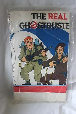 "Vintage NOS 1986 Ghostbusters C.A. Reed 52"" x 96"" Paper Tablecloth - Sealed"