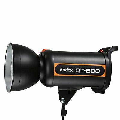 Godox QT-600 600W Studio Strobe Head Camera Flash Monolight Lamp Photogray