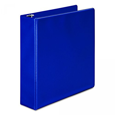 Wilson Jones (W368-44NBL) 3-Ring View Binder, 2-inch Rings, 11 inches x 8 1/2