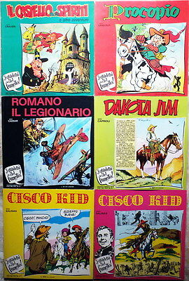 Lotto 6 Quaderni del Fumetto 1973 Craveri Caprioli Fratelli Spada Antiquariato