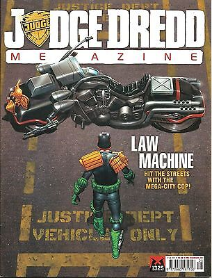 JUDGE DREDD MEGAZINE # 325 / 17th JUL 2012 / REBELLION / UK EXC / V/G / 2000AD