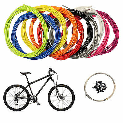 OEM Brake Housing Hose Kit BMX MTB Road Bike 7 Colors With Inner Cable Wire Cord