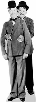 Laurel and Hardy Cardboard Cutout (lifesize OR mini size). Standee. Stand Up.