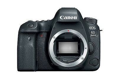 Canon EOS 6D Mark II Body Wi-Fi & Canon BG-E21 Battery Grip USA Warranty