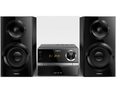 philips btb3370 12 schwarz mini stereo system cd player. Black Bedroom Furniture Sets. Home Design Ideas