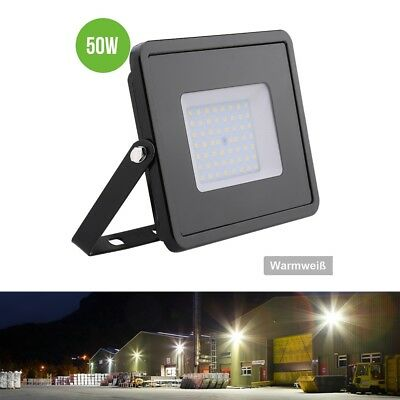 50 Watt Led Fluter Wasserdicht Led Flutlicht Warmweiß 4000lm