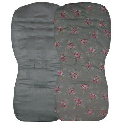 Seat Liners to fit Silver Cross Reflex, Pop or Zest pushchairs - Reversible