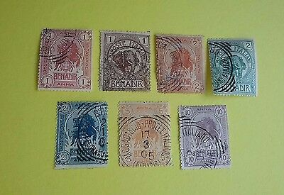 Italy Somaliland 1903 Stamps 1 - 7 Used