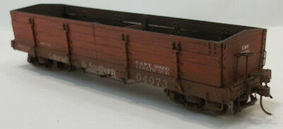 On3 RTR BLW COLORADO & SOUTHERN CINDER CAR #04073 FAC PAINTED & WEATHERED