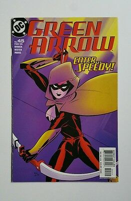 GREEN ARROW #45 DC 2005 1ST Appearance SPEEDY II