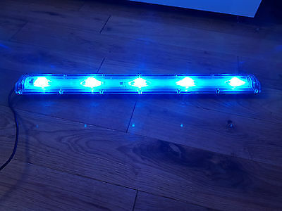 TMC AQUARAY AQUABEAM LED BLUE STRIP AQARIUM TANK LIGHT, in perfect working order