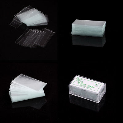 100 pcs Glass Micro Cover Slips 24x50mm - Microscope Slide Covers FF