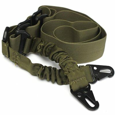 Tactical 2 Point Gun Sling Rifle Adjustable Slings Cord Shoulder Strap Military