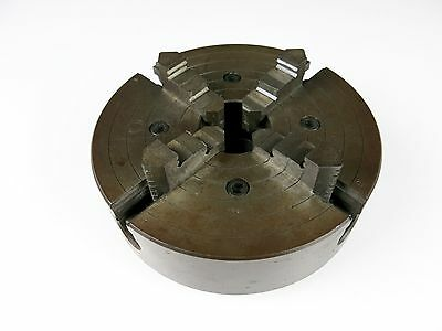 """8"""" Diameter Rockwell 4 Jaw Independent Lathe Chuck for South Bend 2-1/4x8tpi"""