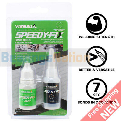 7 Seconds Speedy Fix Filling Reinforcing Adhesive Clear Resin Powder Welding
