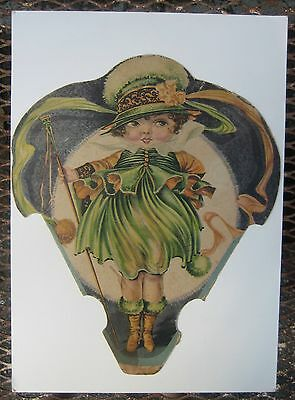 Vintage 1920s Kroger Store Display Sign Newtown OH Art Nouveau Girl