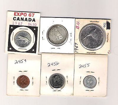 1967 Canadian Expo Silver Mint Set