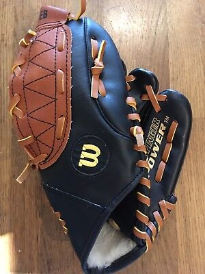 Wilson left hand baseball glove 9 1/2 inch New Easy Catch Child Kids
