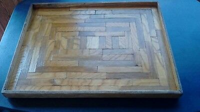 Handmade Vintage Wooden Tray