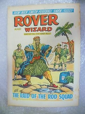 Comic- Rover and Wizard 20th August 1966