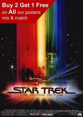 Star Trek The Motion Picture Vintage Poster A5 A4 A3 A2 A1