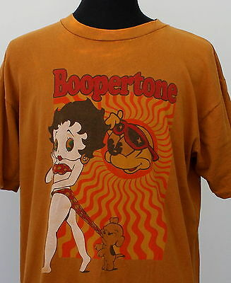 vintage 80s 90s BETTY BOOP cartoon T SHIRT x-large