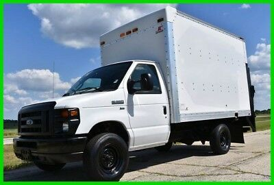 2012 Ford E-350 12ft Box Truck w/ Lift Gate UNDER 10,000 lbs