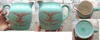 Felinfoel Quality Ales Welsh Water Jug By Wade With Dragon Pictorial