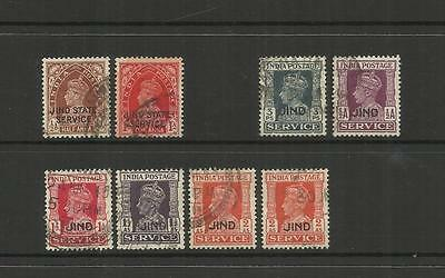 British India Convention State ~ Jind (1937-43) Official Service
