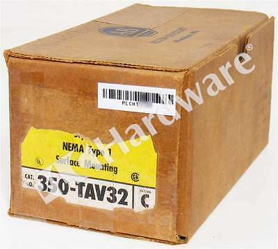 New Allen Bradley 350-TAV32 Series C Reversing Drum Switch 3 Position NEMA Type