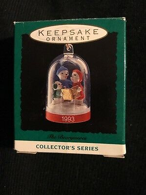 1993 Hallmark Miniature Ornament The Bearymores #2 In Series