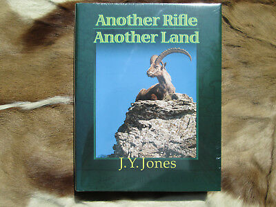 Another Rifle, Another Land by J. Y. Jones Hardcover Safari Press Hunting