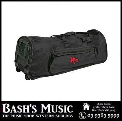"Xtreme 38"" Extra Heavy Duty Drum Hardware Bag with Wheels"